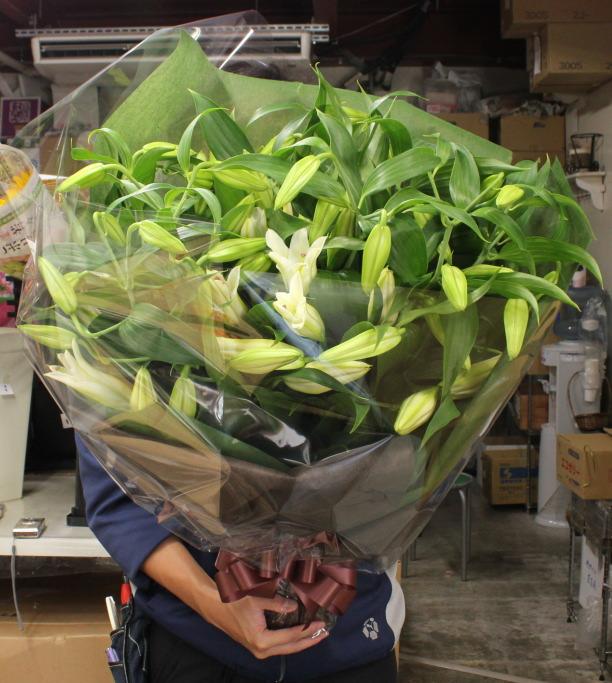 カサブランカ10本の花束