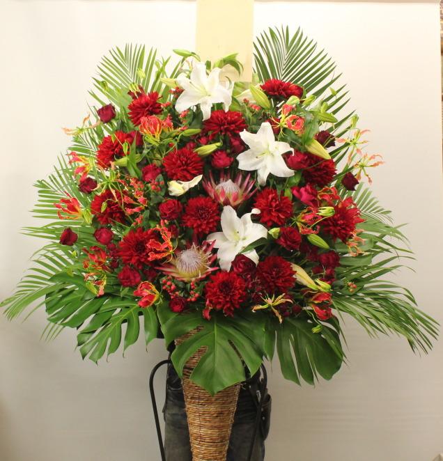梅田・北新地へ配達のスタンド花