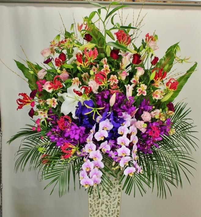 堂島リバーフォーラムにお届けのスタンド花