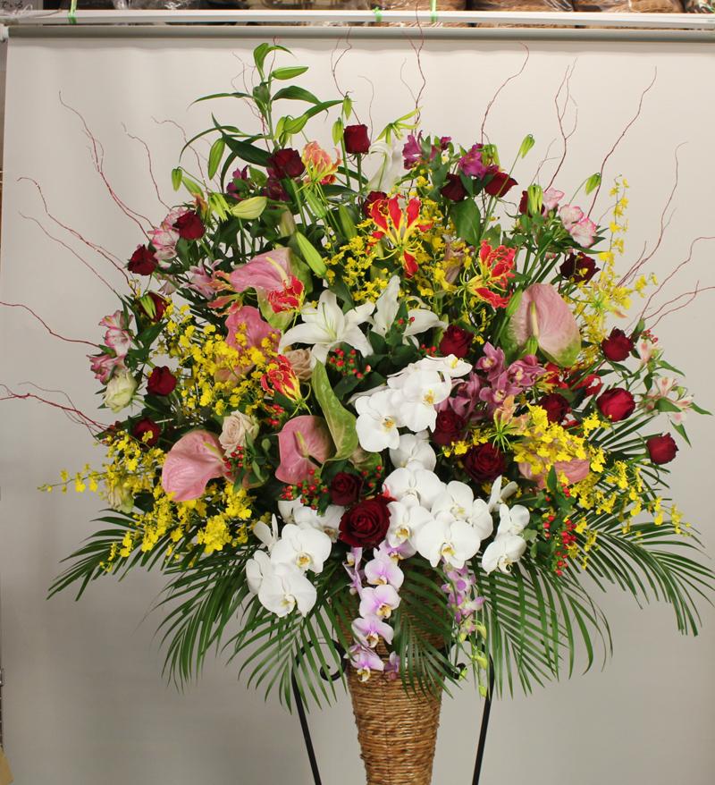 吹田市・メイシアターへお届けのスタンド花