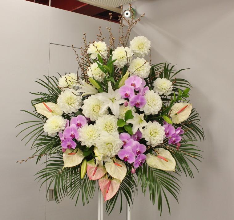 北区梅田はビルボードライブ大阪に配達のスタンド花